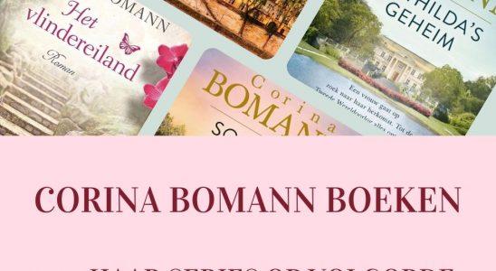Corina Bomann boeken op volgorde